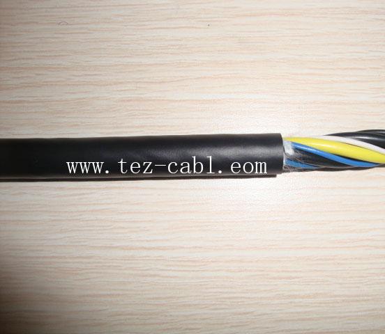 PVC高柔性非屏蔽机器人电缆