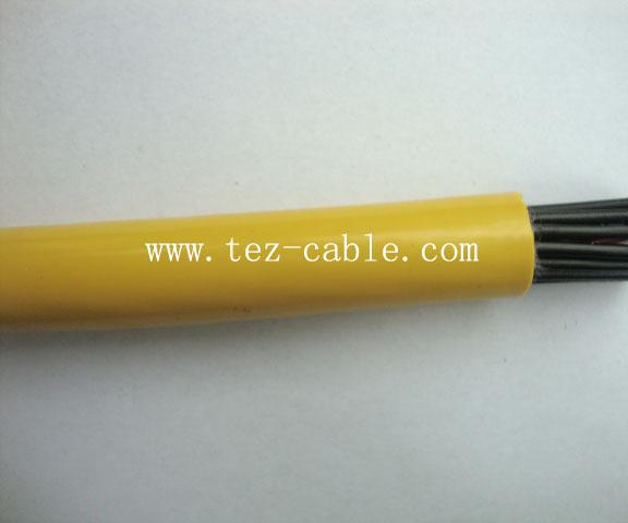 PUR高柔性非屏蔽机器人电缆
