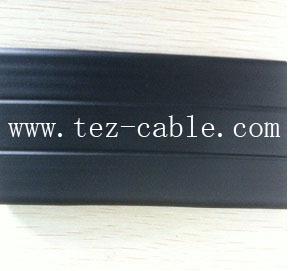 -55℃伸缩门耐寒扁电缆
