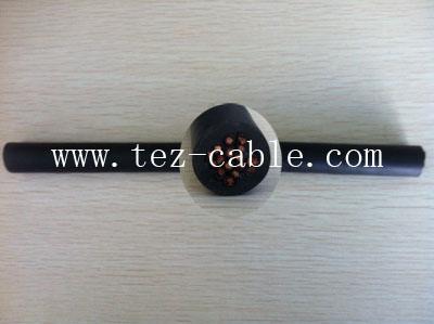 耐低温柔性拖链电缆