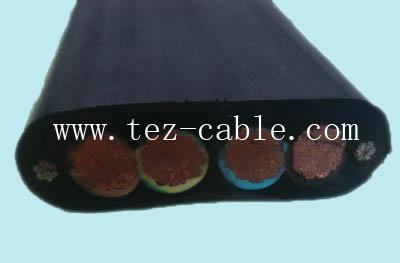 起重机扁电缆