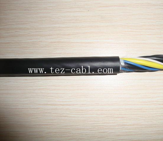 中度抗磨柔性拖链电缆