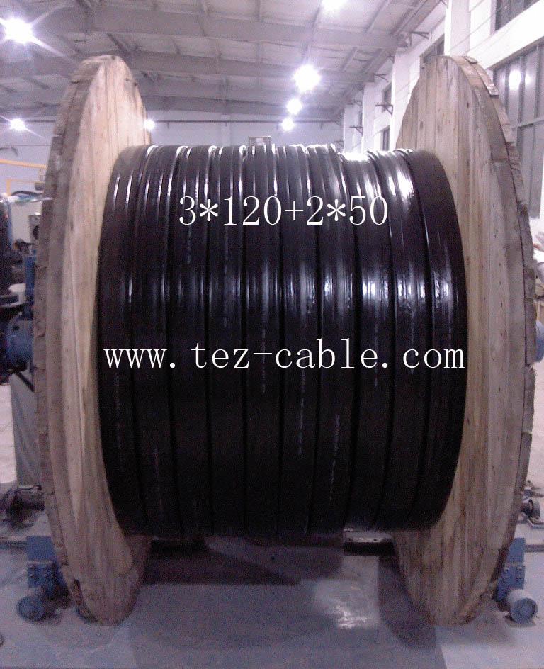 YFFB扁电缆3*120_龙门吊扁电缆3*120+2*50