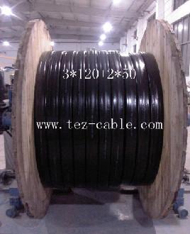 行车扁电缆3*120mm2_3*120+2*50mm2