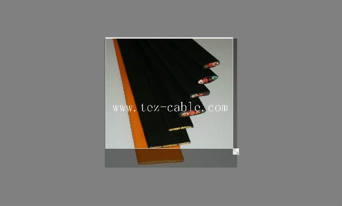 行车扁电缆 YFFB 3CX4mm2